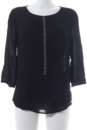 Betty Barclay Langarm-Bluse schwarz Elegant