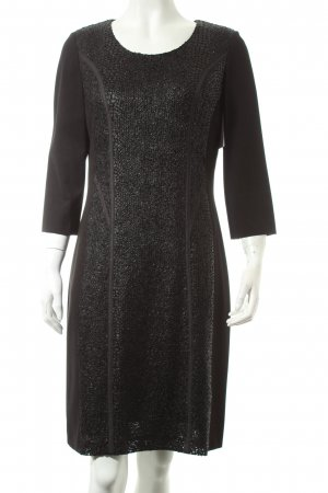 Betty Barclay Langarmkleid schwarz Elegant