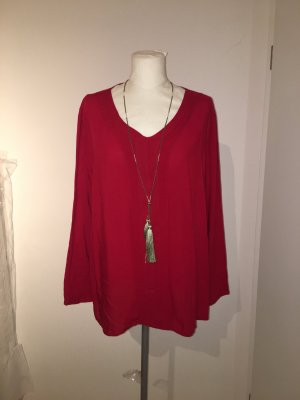 Betty Barclay Langarmshirt Pullover Gr.46 rot