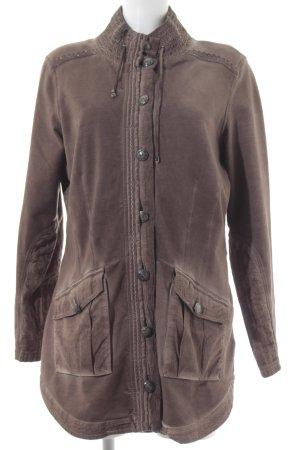 Betty Barclay Lange Jacke hellbraun klassischer Stil