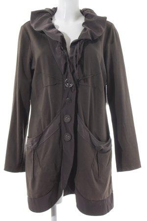 Betty Barclay Lange Jacke khaki klassischer Stil