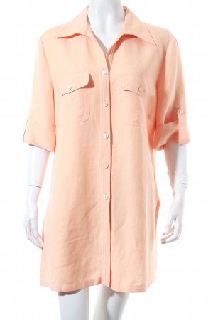 Betty Barclay Linnen blouse licht Oranje casual uitstraling