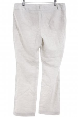 Betty Barclay Linen Pants light grey striped pattern elegant