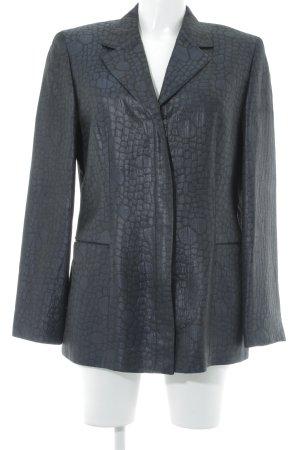 Betty Barclay Long-Blazer dunkelblau-schwarz Punktemuster Elegant