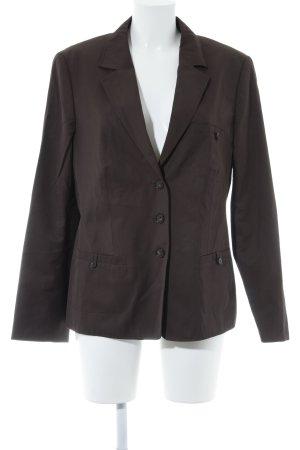 Betty Barclay Long-Blazer dunkelbraun Business-Look