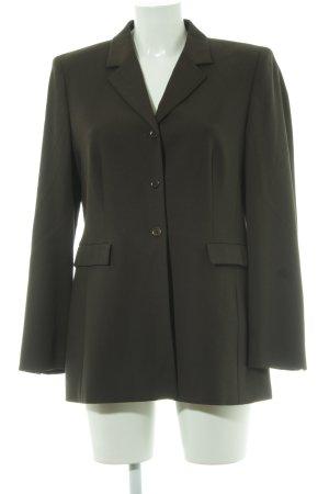 Betty Barclay Lange blazer groen-grijs zakelijke stijl