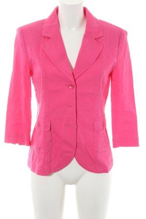 Betty Barclay Long-Blazer neonpink extravaganter Stil