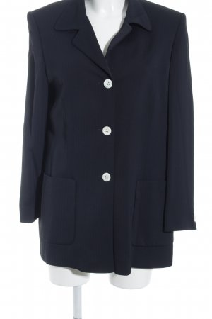 Betty Barclay Long-Blazer weiß-dunkelblau 40ies-Stil