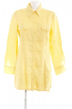 Betty Barclay Camicetta lunga giallo stile casual