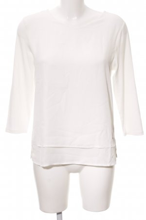 Betty Barclay Longsleeve weiß-wollweiß Casual-Look