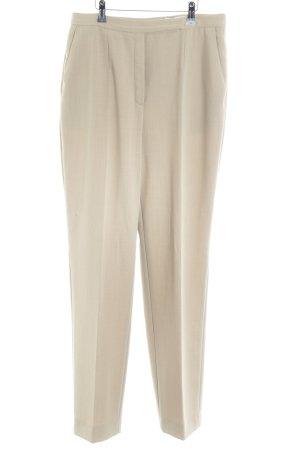 Betty Barclay Pantalón anchos crema estilo «business»