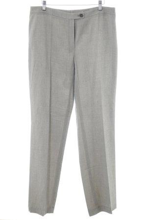 Betty Barclay Pantalón anchos marrón grisáceo-blanco puro moteado