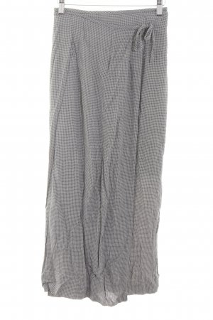 Betty Barclay Maxi Skirt light grey check pattern vintage look