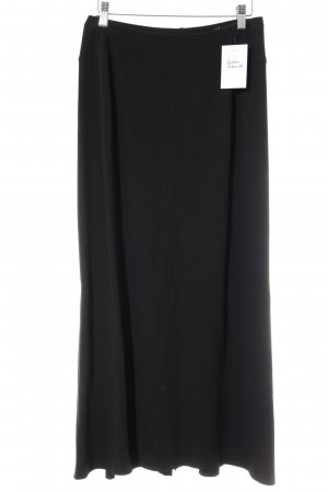 Betty Barclay Falda larga negro estilo minimalista