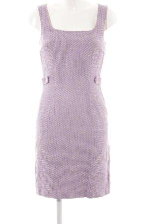 Betty Barclay Midikleid flieder-creme Street-Fashion-Look