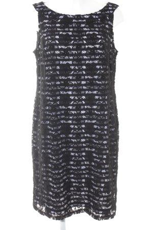 Betty Barclay Minikleid schwarz-weiß Streifenmuster Elegant