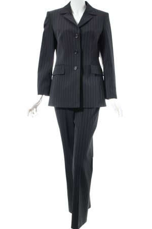 Betty Barclay Pinstripe Suit dark grey pinstripe business style