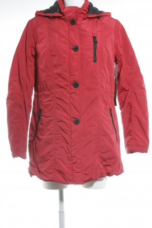 Betty Barclay Outdoorjacke rot-schwarz Casual-Look