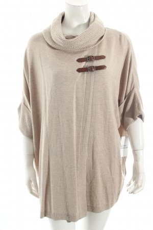 Betty Barclay Oversized Pullover beige-braun Kuschel-Optik