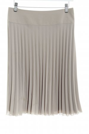 Betty Barclay Pleated Skirt grey brown business style
