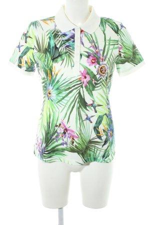 Betty Barclay Polo shirt bloemen patroon casual uitstraling