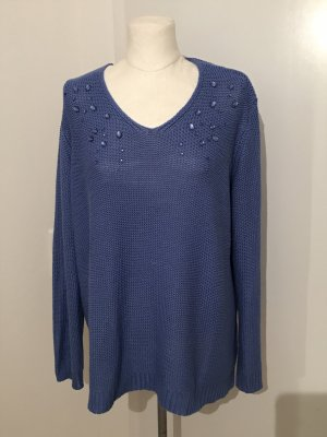 Betty Barclay Pullover Gr.48 Strickpullover blau