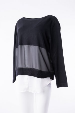 BETTY BARCLAY - Pullover mit Blusenabschluss