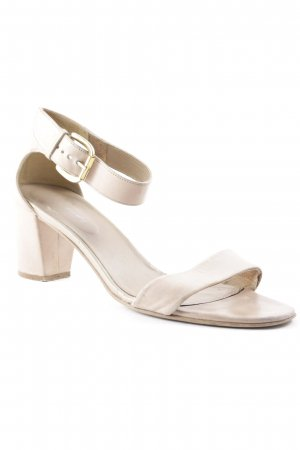 Betty Barclay Strapped High-Heeled Sandals nude-gold-colored business style