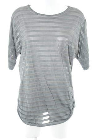 Betty Barclay Gestreept shirt lichtgrijs gestreept patroon casual uitstraling