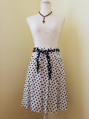 Betty Barclay Jupe corolle blanc-noir