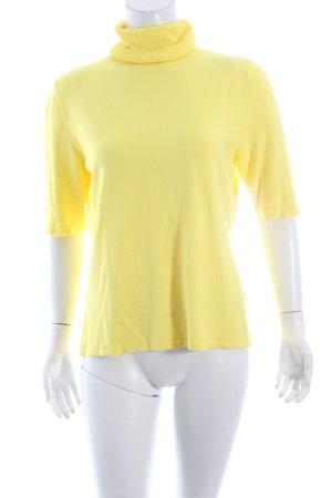 Betty Barclay Rollkragenpullover gelb klassischer Stil