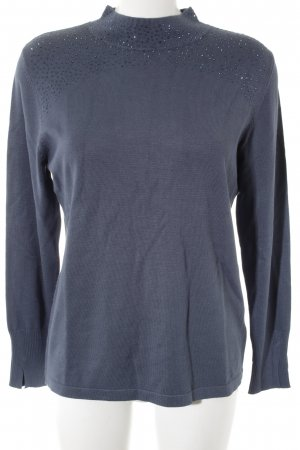 Betty Barclay Turtleneck Sweater slate-gray classic style