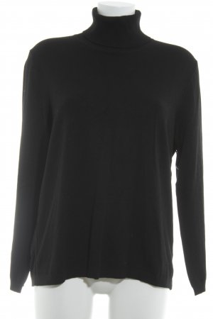 Betty Barclay Rollkragenpullover schwarz Casual-Look