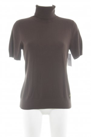 Betty Barclay Turtleneck Shirt dark brown simple style