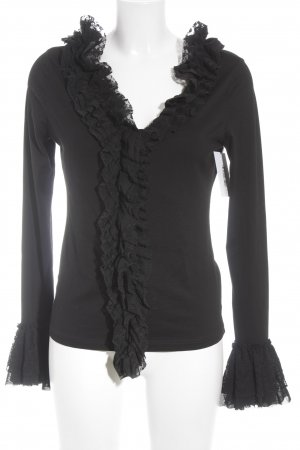 Betty Barclay Ruche blouse zwart elegant