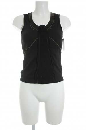Betty Barclay Frill Top black casual look