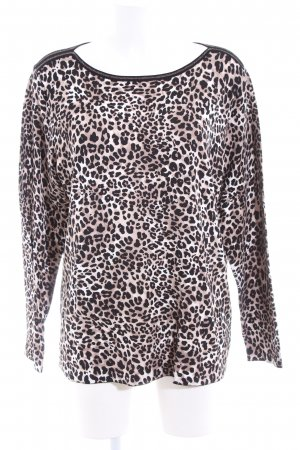 Betty Barclay Rundhalspullover Animalmuster Casual-Look