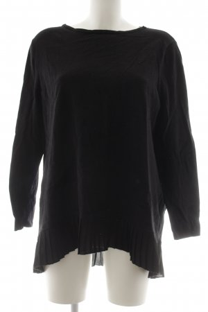Betty Barclay Jersey de cuello redondo negro look casual