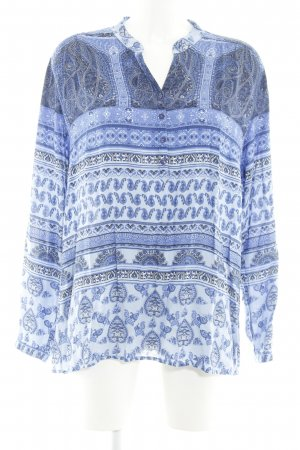 Betty Barclay Blusa caída azul-blanco look casual