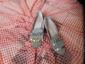 Betty Barclay Moccasins light grey leather