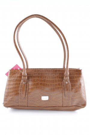 Betty Barclay Schultertasche cognac Reptil-Optik