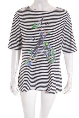 Betty Barclay Shirt dunkelblau-weiß Motivdruck Casual-Look
