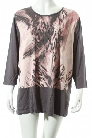 Betty Barclay Shirt dunkelgrau-rosé Casual-Look