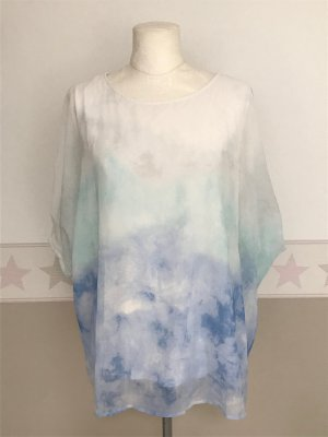 Betty Barclay Camisa tipo túnica blanco-azul