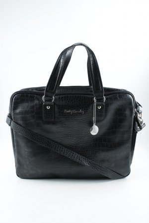 Betty Barclay Comprador negro estampado de reptil