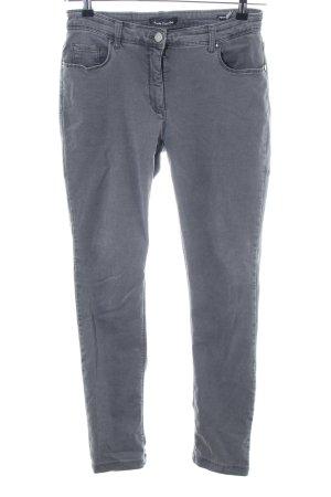 Betty Barclay Jeans slim gris clair style décontracté