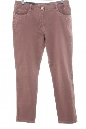 Betty Barclay Slim jeans mauve casual uitstraling