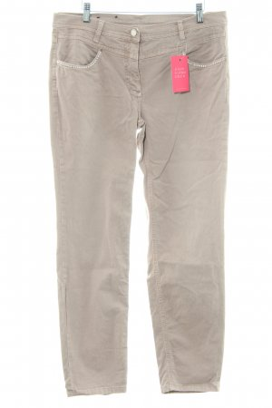 Betty Barclay Slim Jeans camel meliert Casual-Look