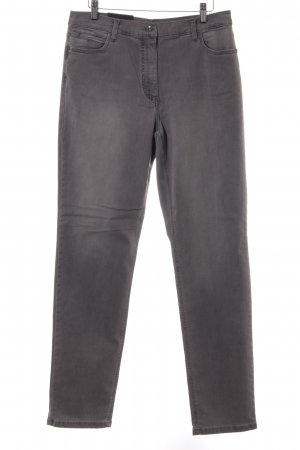 Betty Barclay Slim Jeans dunkelgrau Casual-Look