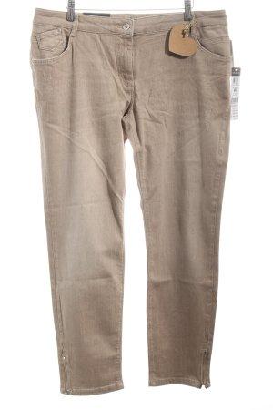 """Betty Barclay Slim Jeans """"Sara"""" beige"""